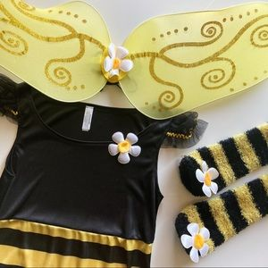 Kids Bumble Bee Costume Size Junior Small